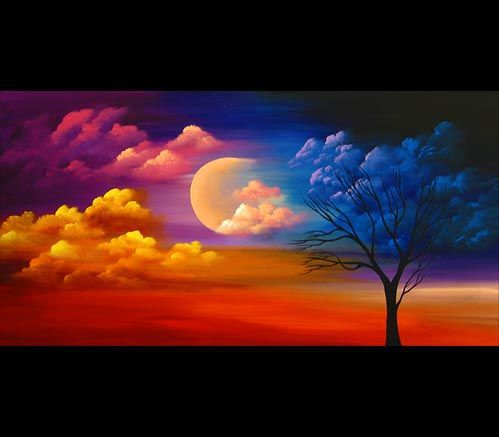 Night moon diamond painting cross stitch fireworks full diamond embroidery foamiran diamond - Fall landscaping ideas a mosaic of colors shapes and scents ...