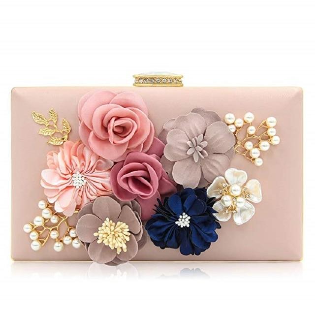 cca07853e Women Evening Envelope Rhinestone Frosted Handbag Party Bridal Clutch Purse