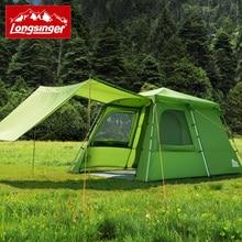 Longsinger automatic aluminum rod outdoor camping tent