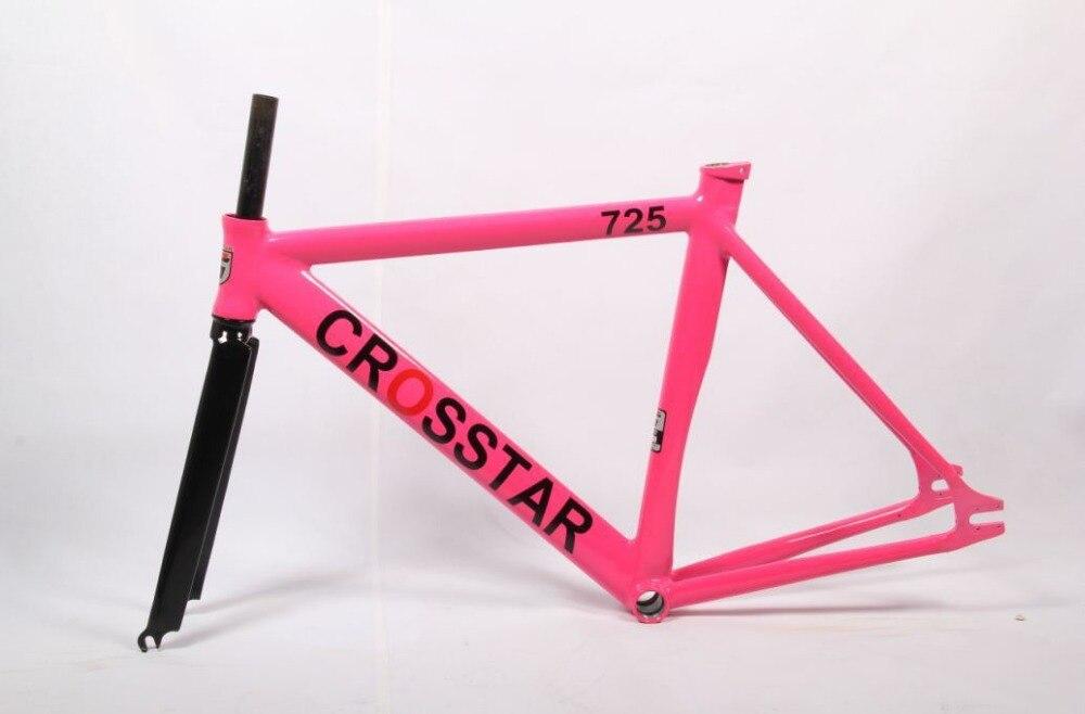 Fixie Bicicletas súper muscular artes fijos crosstar marco y tenedor ...