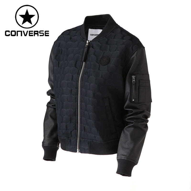 Original New Arrival 2018 Converse Womens Jacket  SportswearOriginal New Arrival 2018 Converse Womens Jacket  Sportswear