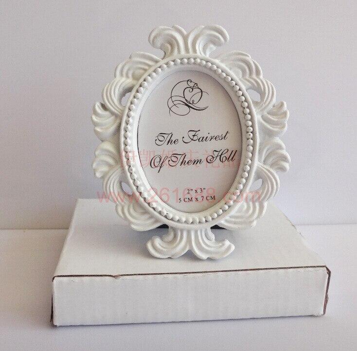 2017 Pretty Oval Baroque Small Photo Frame Fashion Gift The Wedding ...