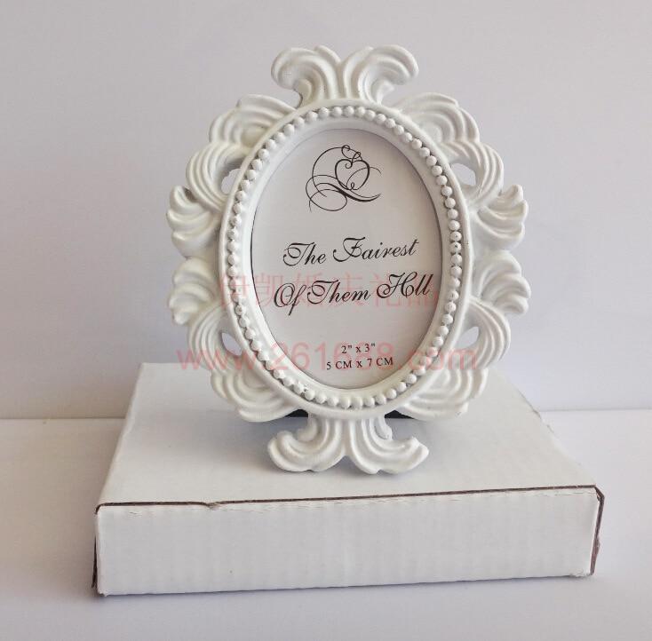 ᐃ2017 pretty oval barroco foto pequeña Marcos moda regalo puntales ...