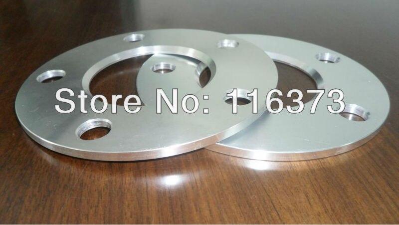 Espaceurs de roue hubcentrique | 1 paire de 5x112mm billette 5mm épaisseur 66.6mm alésage de moyeu