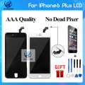 Best Quality Grade AAA For iPhone 6 Plus LCD Screen  Touch Display Digitizer No Dead Pixel 100% Tested Black White Free DHL