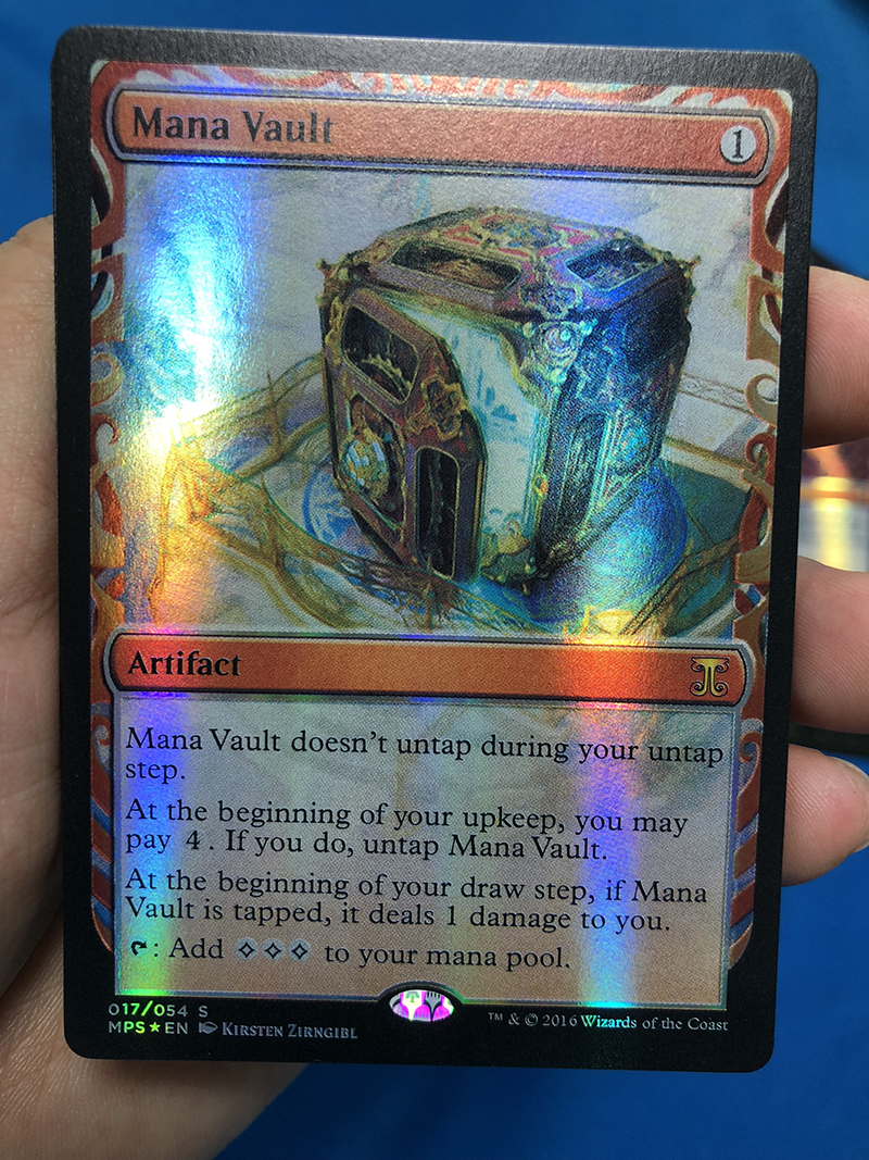 Mana Vault Kaladesh Inventions Foil Magician ProxyKing 8.0 VIP The Proxy Cards To Gathering Every Single Mg Card.