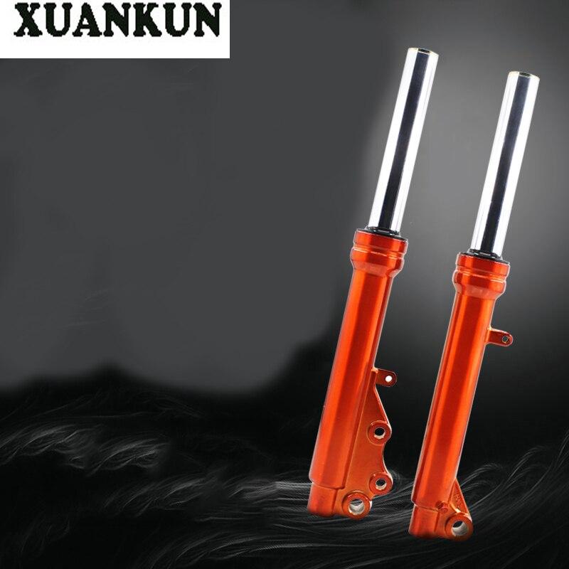 XUANKUN 27 modèles de disque de Suspension d'amortisseur avant de moto hydraulique