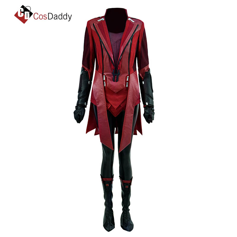 Wanda Django Cosplay Costume Maximoff Wanda Frank Ana Maximoff Scarlet Witch Queen of Chaos Emperor Of