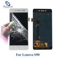 Reepanel For Lenovo S90 100 Tested New LCD Display Touch Screen Digitizer Assembly With Frame Replacement