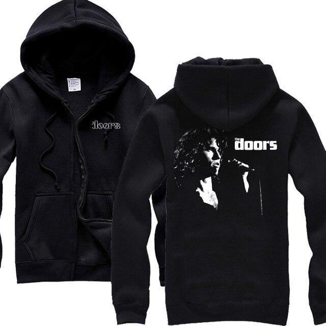 Aliexpress.com : Buy 6 designs The Doors Zipper Sweatshirt 3D Jim Morrison Black Sweatshirt Punk Rock fitness Cotton Vintage sudadera shell jacket from ...