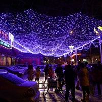 Waterproof 12 22m RGB LED Solar String Lights Super Bright Garden Home Outdoor Lamp New Year
