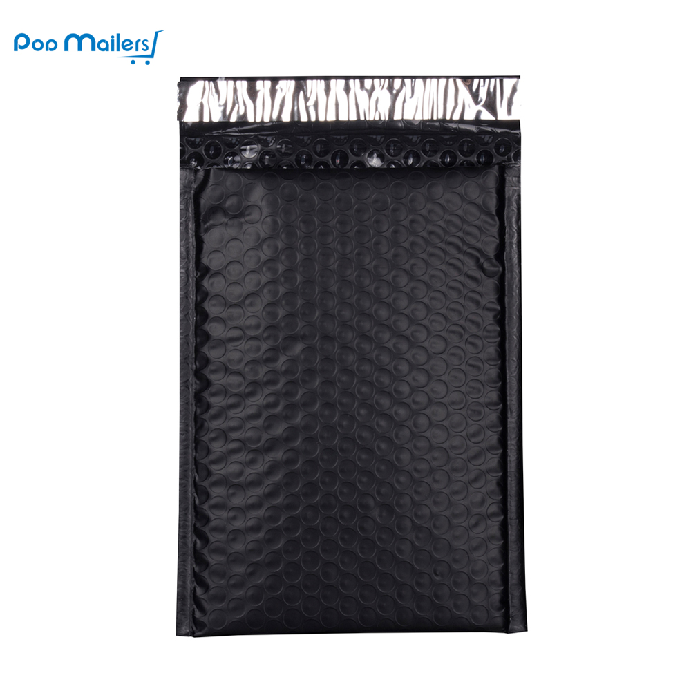 10pcs 8.5x11inch 235*280mm Poly Bubble Mailing Mailer Shipping Padded Envelope Bags Black Color Shockproof Courier Bubble mailer