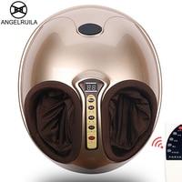 AngelRuila Electric Foot Massage Machine Reflexology Infrared Feet Massager With heating Shiatsu Reflexology Vibrating Roller