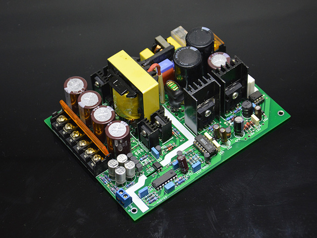Assembled 600W High power Class D amplifier switching power supply ...