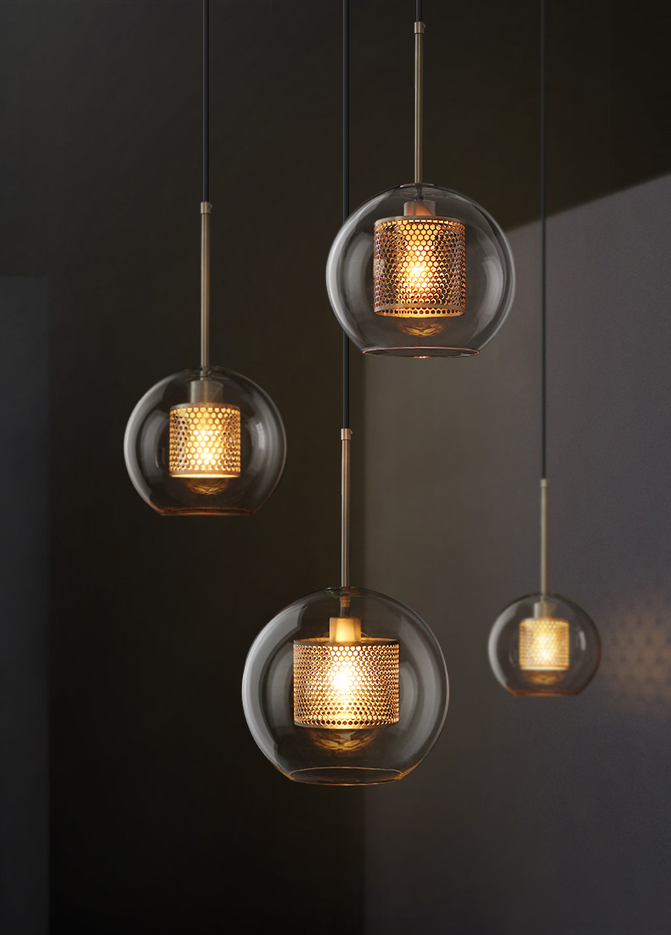 Luminaire Suspension Vintage Us 88 Luals Loft Pendant Lamp Vintage Pendant Lights Simple Glass Suspension Luminaire Art Deco Lighting Edison Nordic Hanging Light In Pendant