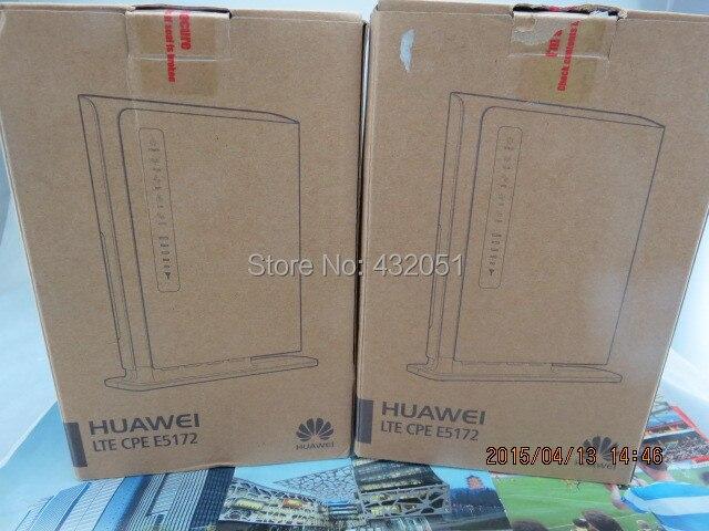 Desbloqueado huawei e5172s-22 150 mbps router + 1000 mah