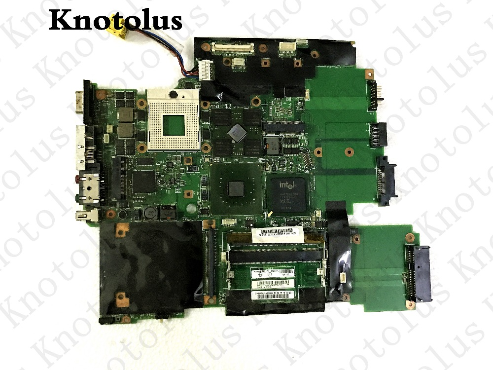 44c3714 laptop motherboard for lenovo ibm thinkpad t60 15.4 laptop motherboard ddr2 pm945 ati m64-csp128 цена и фото