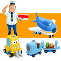 New Toys Super Wings Large Planes Jimbo Model Transformation Airplane Robot Action Figures Boys Birthday Gift Brinquedos 2017
