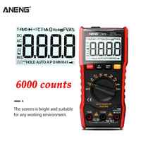 ANENG M20 Digital Multimeter 6000 zählt tester esr meter multimetro analogico digitale profissional Mit Hintergrundbeleuchtung AC/DC Amperemeter