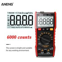 ANENG M20 Digital Multimeter 6000 counts tester esr meter multimetro analogico digital profissional With Backlight AC/DC Ammeter