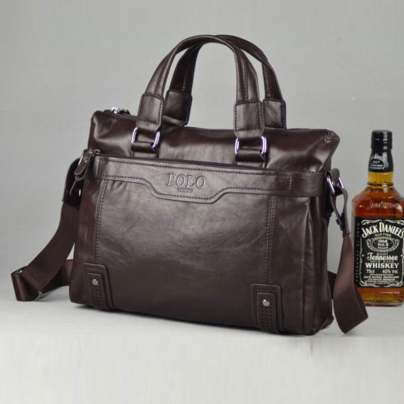 Aliexpress Videng Polo Men Bag New Brand Leather Handbag High Quality Casual Business Briefcase Laptop Crossbody Shoulder Messenger From