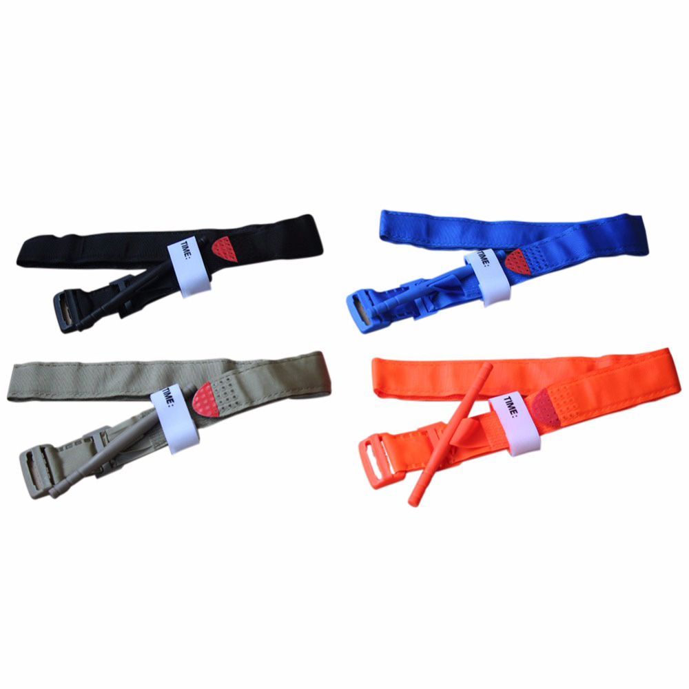 Outdoor Aid Emergency Tourniquet Medical Emergency First Aid Kits Tactical Equipment Quick Release Buckle Tourniquet Strap in Safety Survival from Sports Entertainment