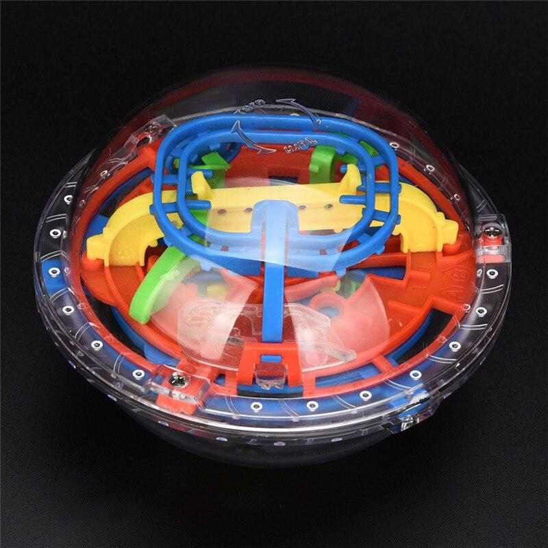 3D 75 Barriers Labyrinth Magic Intellect Ball Balance Maze Perplexus Puzzle Toy