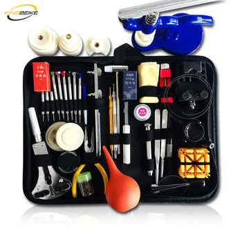 KINGBEIKE Professional Watch Tools Set High Quality Watch Repair Tool Kit Small Hammer High-end Watchmaker Dedicated Device - DISCOUNT ITEM  24% OFF Watches