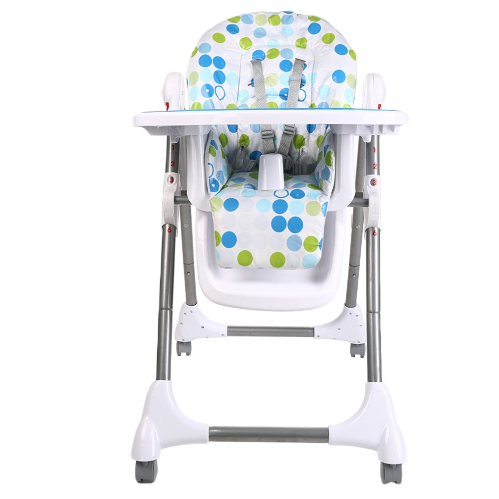 New Childrens Child Kids Highchair Fast Folding Feeding Dining Chair Safety Seat Children's Chairs Kids Feeding Chair for Infant стоимость