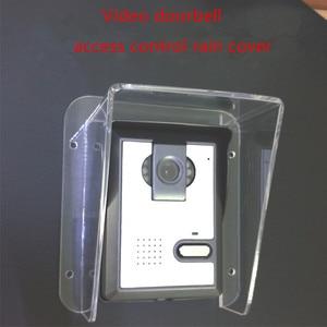 Image 4 - Yobang אבטחה Freeship הווילה אינטרקום פעמון בקרת גישה מארח מכונה כיסוי גשם כיסוי עמיד למים סוג אוניברסלי