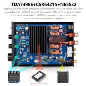 Image 5 - Nobsound HiFi stéréo Bluetooth classe D amplificateur de puissance maison stéréo Audio Amp APTX LL 160W + 160W