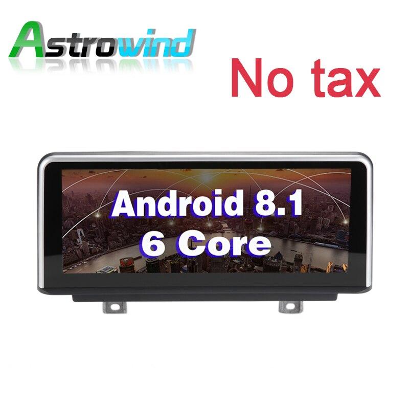 10.25 pollici 2G RAM Android 8.1 GPS Per Auto Multimediale di Navigazione Radio Stereo Per BMW Serie 3 F30 F34 per BMW 4 Serie F32 F33 F36 NBT