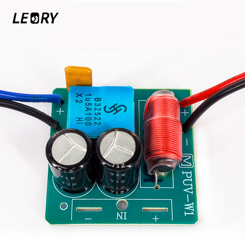LEORY 60W 2 Way Audio Speaker Frequency Divider Treble Bass TWS Dual Unit Crossover Accessory