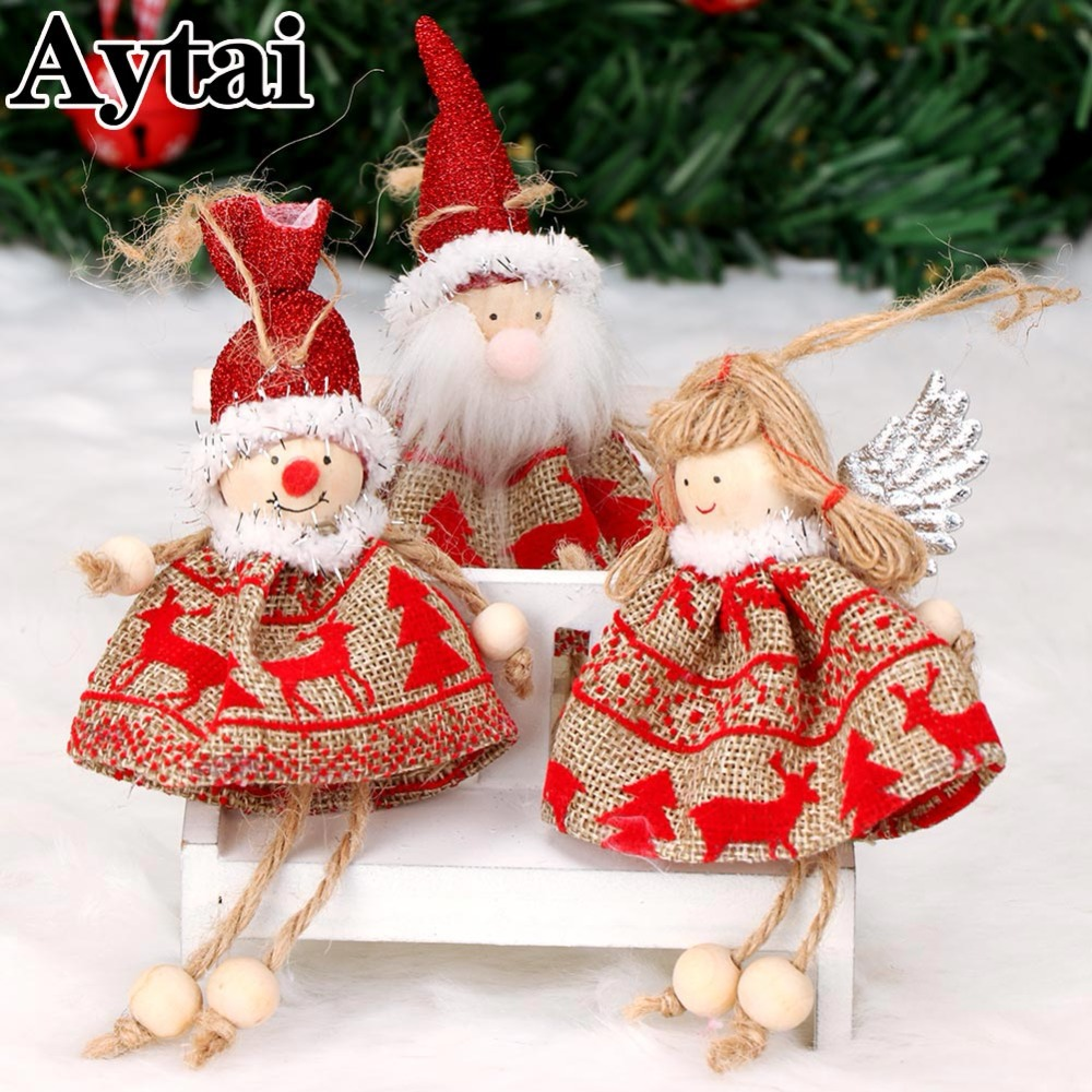 Christmas Decorations All Year Long: Aytai 3pcs Christmas Ornaments Cute Angel Sitting Long