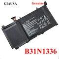 GIAUSA Echtem B31N1336 batterie für ASUS VivoBook C31-S551 S551L S551LB S551LA R553L R553LN R553LF K551L K551LN V551L V551LA