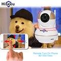 Высокое Качество HD 720 P Беспроводная Ip-камера Wi-Fi Ночного Видения wi-fi Ip-камера Baby Monitor Поддержка 433 МГц Сигнализации Двери Дым датчик