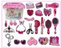 As crianças brincam casa simulação brinquedo caixas de Cosméticos Set meninas 3-6 year-old girl