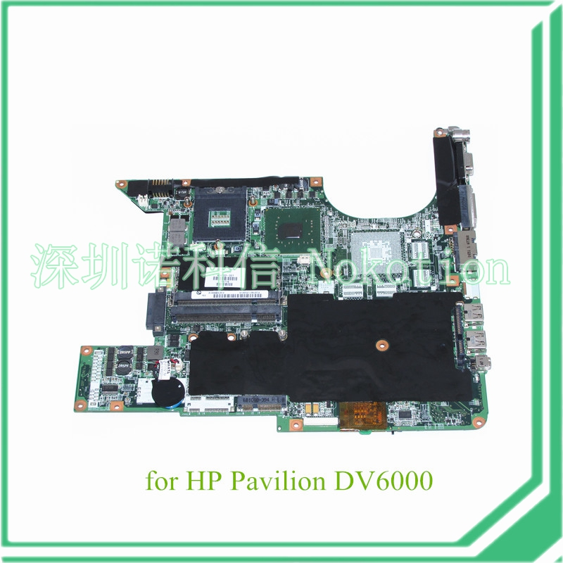 NOKOTION 434723-001 434725-001 for HP Pavilion DV6000 15.4'' laptop motherboard 945GM DDR2 Without nvidia overheat problem 665281 001 for hp pavilion dv6 dv6 6000 laptop motherboard ddr3 tested working
