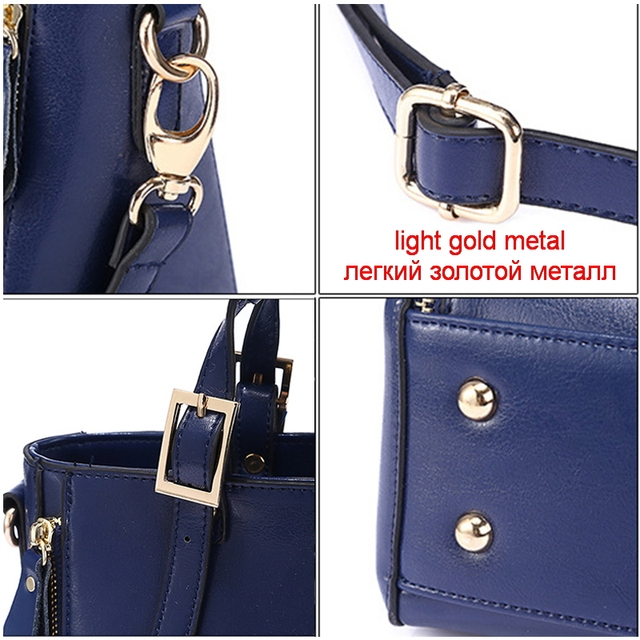FUNMARDI Luxury Handbags Women Bags Designer Split Leather Bags Women Handbag Brand Top-handle Bags Female Shoulder Bags WLHB974 4