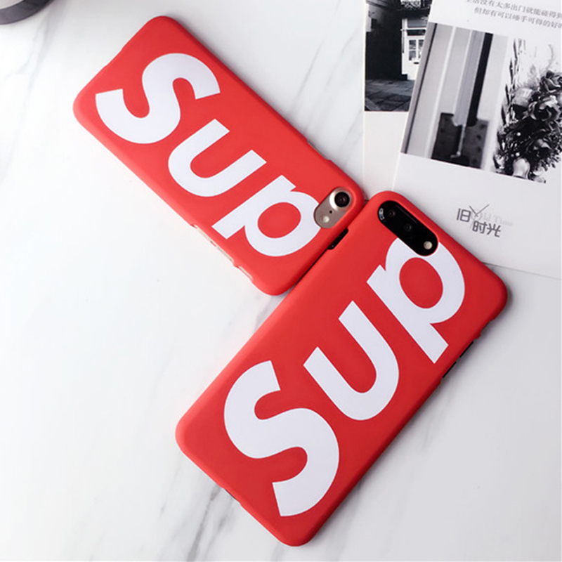 Brands suprem case for iphone 6 6s 7 8 X Plus Cases Thin hard plastic PC Supr phone case cover For iPhone 6 6S 7 8 X Plus Case