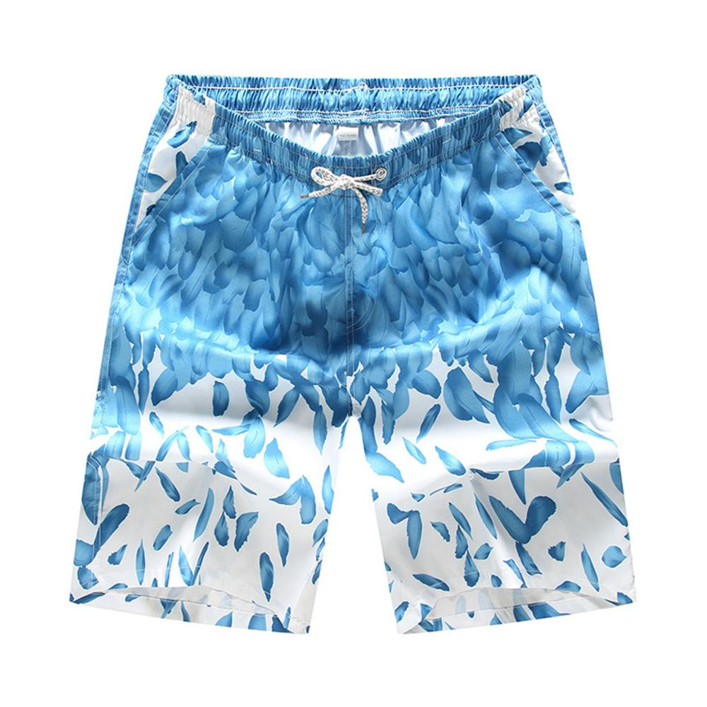2019 Perimedes Fast-drying Men's Colorful   Shorts   Swimming Beach   Shorts   mens sweat   board     shorts   gmy Flower Surfboard   Shorts
