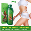 200g Anti Cellulite 3 Days Slimming Cream Green Tea Fat Burn Fast  lose weight Burning fat Cream Firming Body Shap