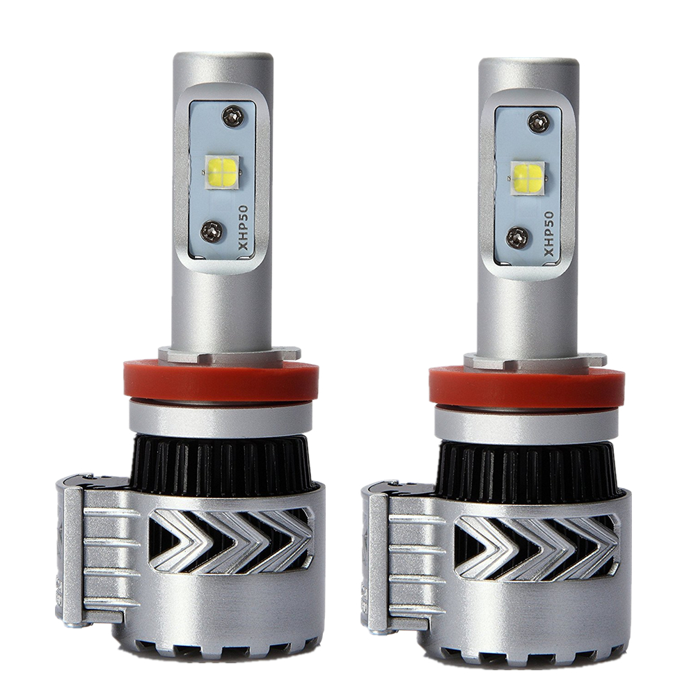 Super Bright H8 H9 H11 LED Car Headlight Conversion Kit 72W Fog Running Lamp Automobile Headlamp For Auto Car LED Headlight Bulb super bright h7 p7 led car headlight conversion kit fog lamp bulb drl 60w 9000lm 6000k 10v 30v dc wholesale d20
