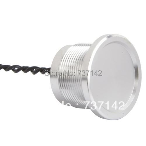 ELEWIND Silver color aluminum anodized piezo push switch (22mm,PS223Z10YNT1,Rohs,CE) elewind silver color aluminum anodized piezo push switch 19mm ps193p10ynt1b24l rohs ce