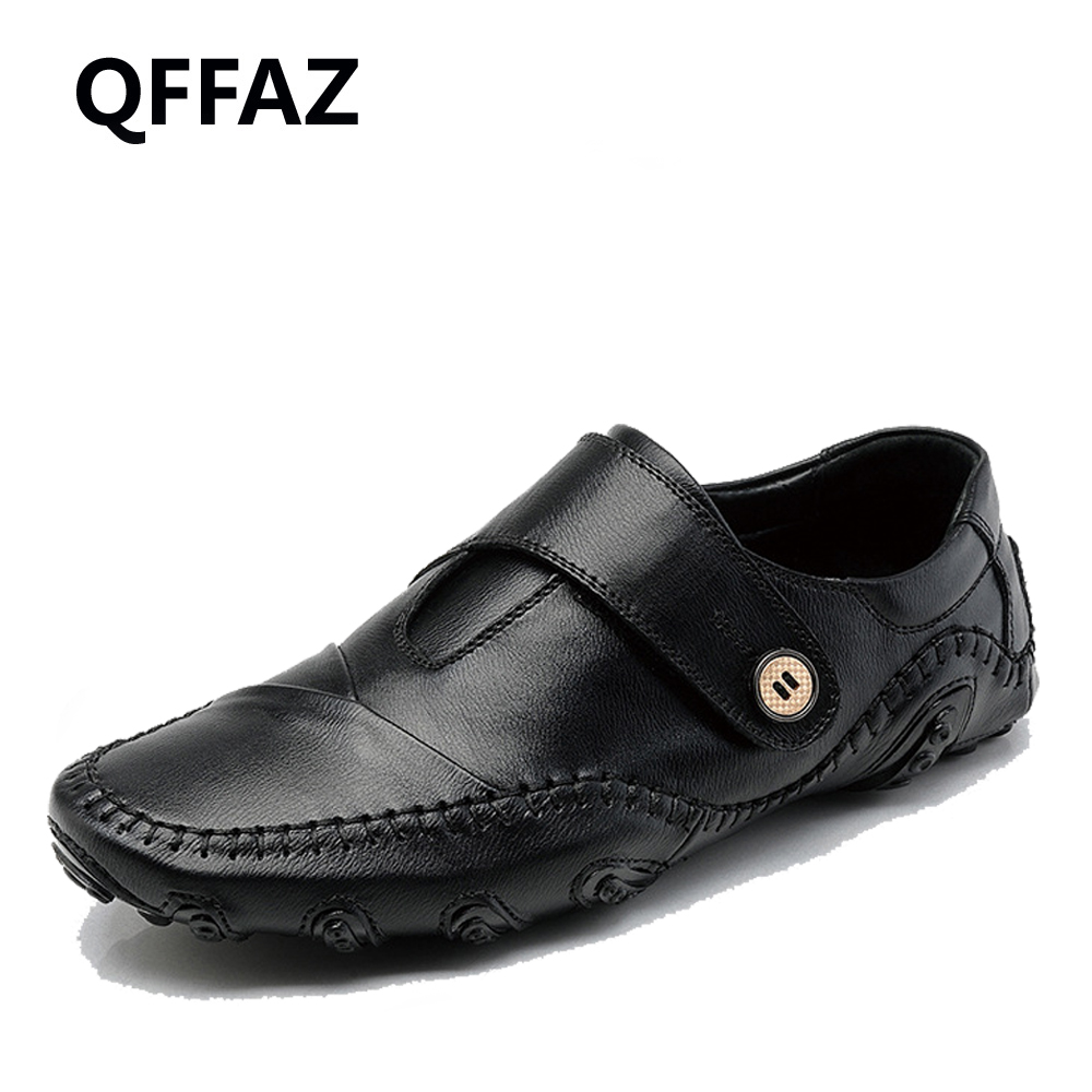 QFFAZ New Fashion British Style Men Causal Shoes Sneakers Genuine Leather Men Shoes Outdoor Flats Shoes Zapatos Hombre 2015 new fashion british martin causal genuine leather men shoes brand camel men shoes real leather men flats casual shoes man