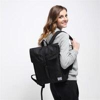 14 Inch Herschel Style Backpack Homme Femme Men Women Laptop Bag Mochila Black Waterproof School Bags