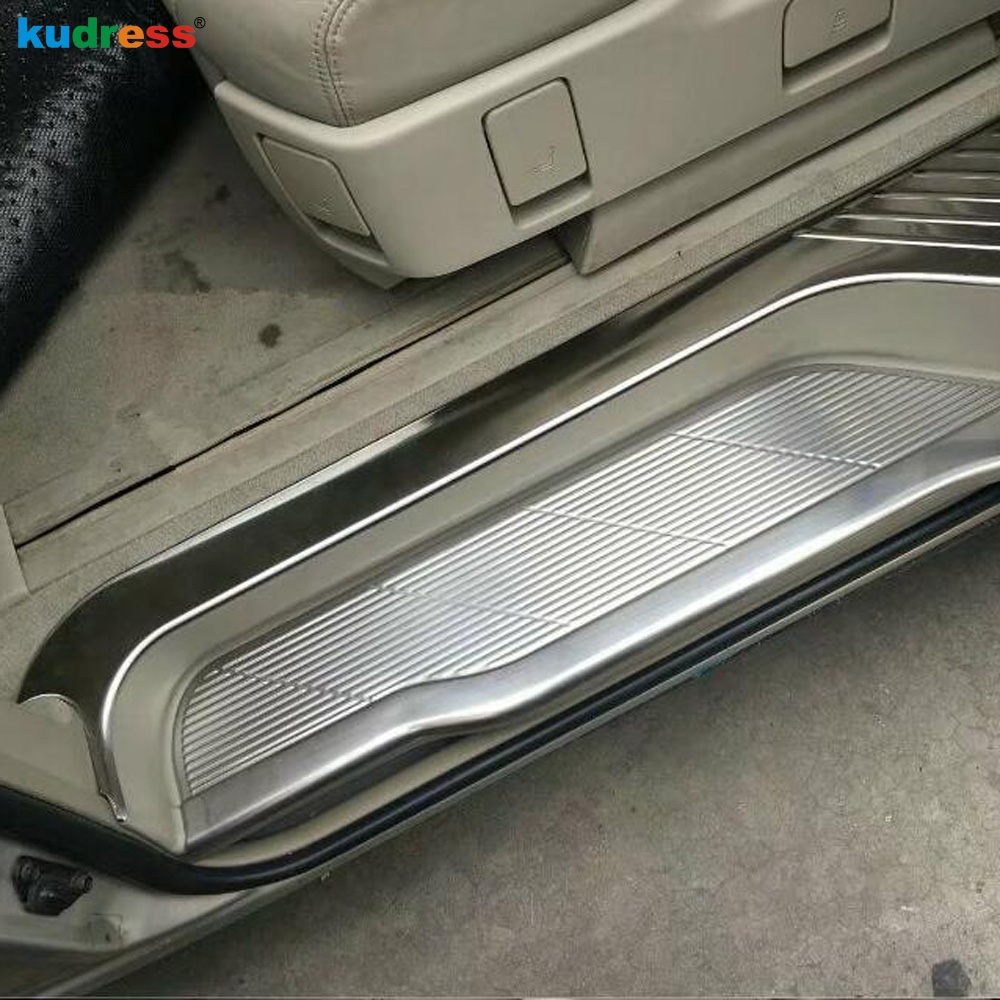 For Toyota Estima Previa Tarago 2016 Stainless Steel Scuff Plate Door Sill Guard Thresholds Cover Trim