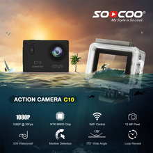 Sports Action Camera 12MP Full HD WiFi 170 Degree Wide Lens