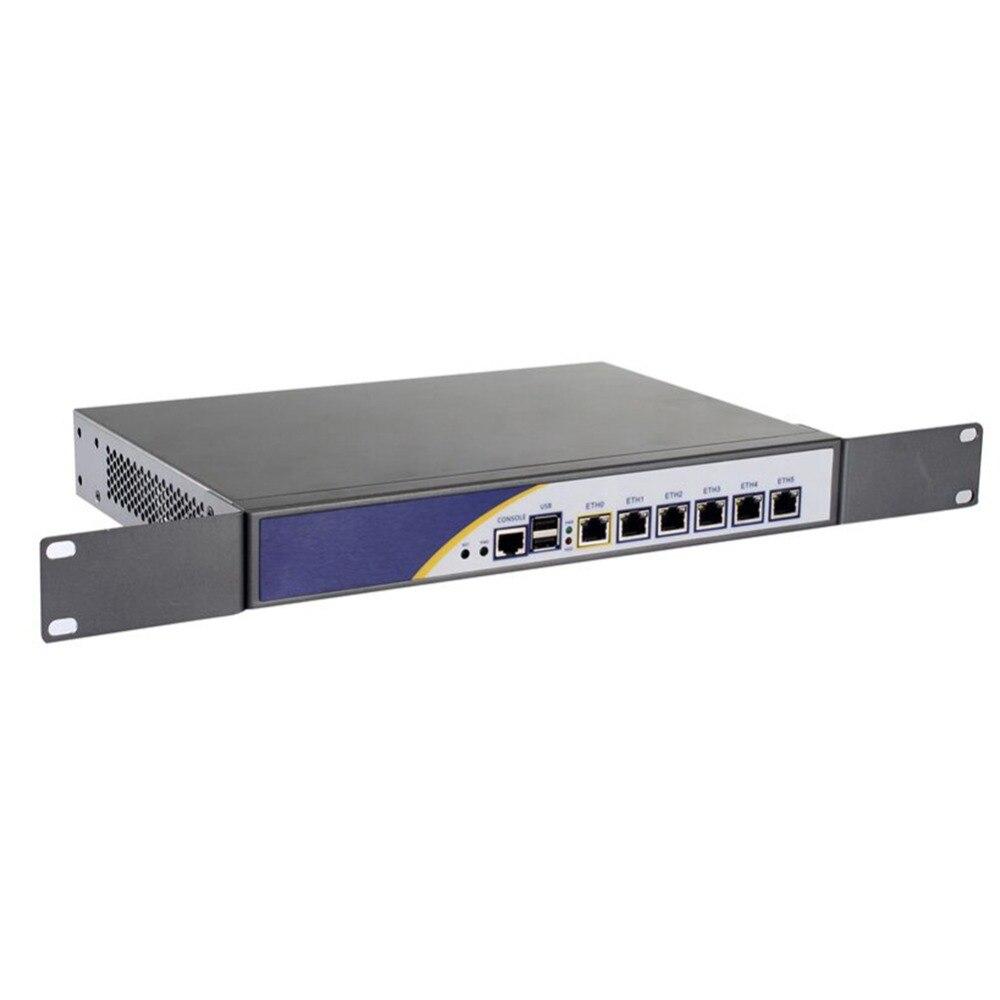 Причастником R5 VPN маршрутизатора Intel 1037u 2 г Оперативная память 8 г SSD 6 Порты LAN сервер брандмауэр
