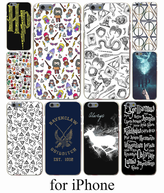 Harry Potter Hard Case Cover for iPhone 7 7 Plus 6 6S Plus 5 5S SE 5C 4S Case Cover